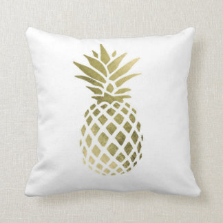 "Pineapple Polyester Throw Pillow 16"" x 16"""