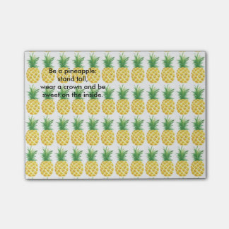 Pineapple Post-it® Notes
