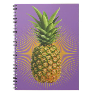 Pineapple Power Notebook
