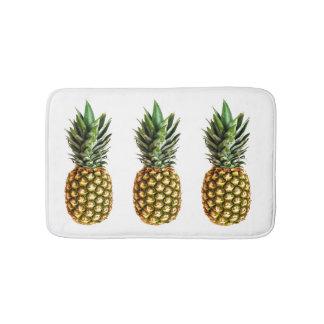 Pineapple print non slip bath mat for bathroom