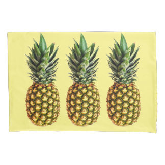 Pineapple print pillowcase | Custom design bedding