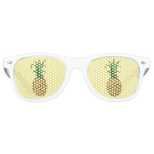 Pineapple Print Sunglasses