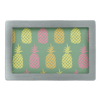 Pineapple Rectangular Belt Buckles