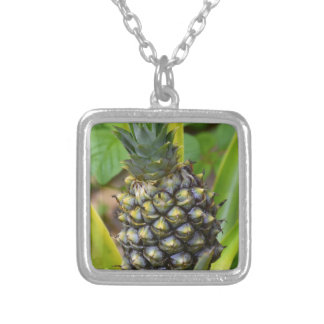 Pineapple Silver Plated Necklace