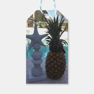 Pineapple Starfish Gift Tags
