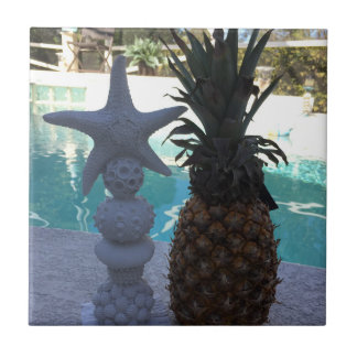 Pineapple Starfish Tile