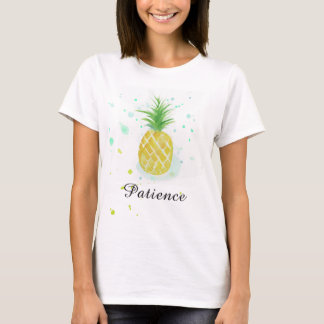 Pineapple Tee Patience T-shirt by Vivian's Spring