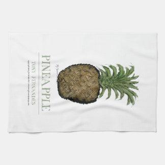 pineapple, tony fernandes kitchen towel