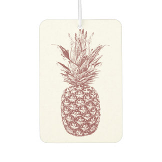 Pineapple Tropical Air Freshener