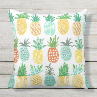 Pineapple Tropical outdoor   Pillow