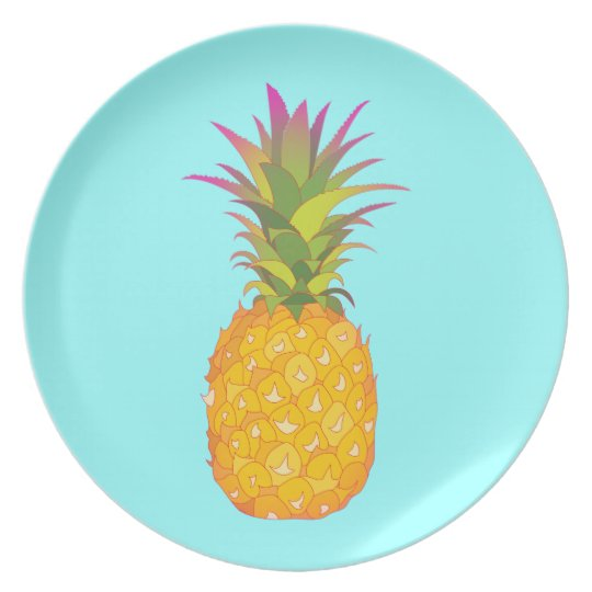 Pineapple - Tropical Plate