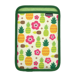 Pineapple Tropical Summer Seamless Pattern iPad Mini Sleeve