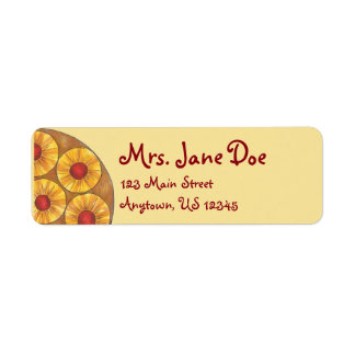 Pineapple Upside Down Cake Cherry Foodie Labels