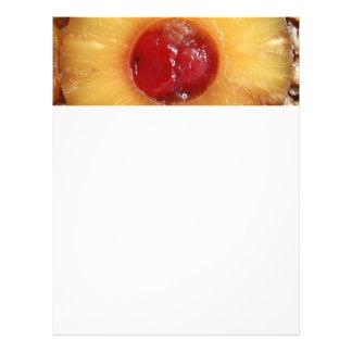 Pineapple Upside Down Cake Pineapple Full Color Flyer
