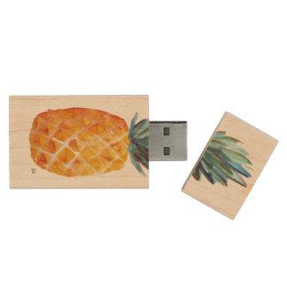 Pineapple USB Wood USB Flash Drive