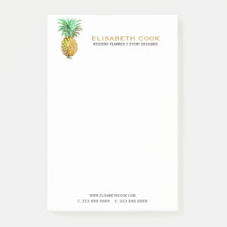 PineApple  Vintage Tropical Design Post-it Notes