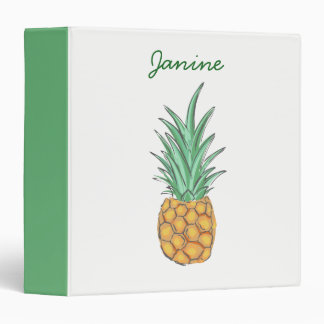 Pineapple Vinyl Binders