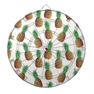 Pineapple Wallpaper Pattern Dartboard
