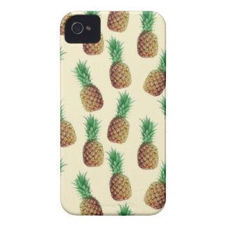 Pineapple Wallpaper Pattern iPhone 4 Case-Mate Case