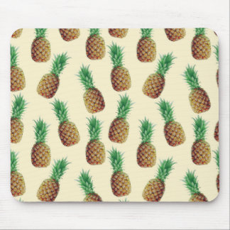 Pineapple Wallpaper Pattern Mouse Pad