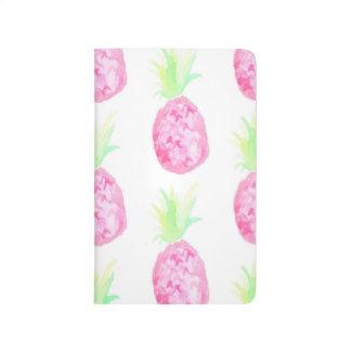 Pineapple Watercolor Notebook Journals