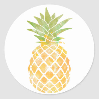 pineapple stickers pineapple custom sticker designs. Black Bedroom Furniture Sets. Home Design Ideas