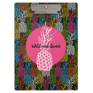 Pineapple Wild and Sweet Clipboard