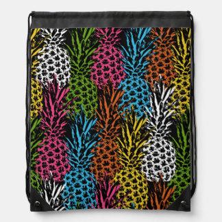Pineapple Wild and Sweet Drawstring Bag