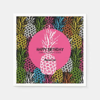 Pineapple Wild and Sweet Paper Napkins