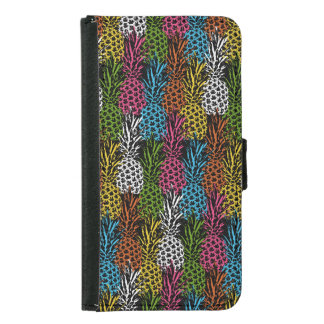 Pineapple Wild and Sweet Samsung Galaxy S5 Wallet Case
