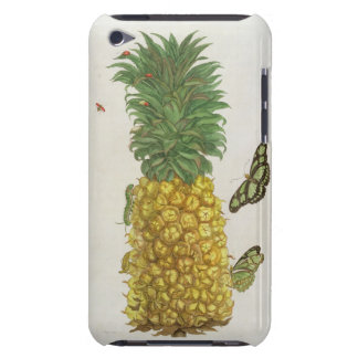 Pineapple with caterpillar and butterflies (hand-c iPod touch cover