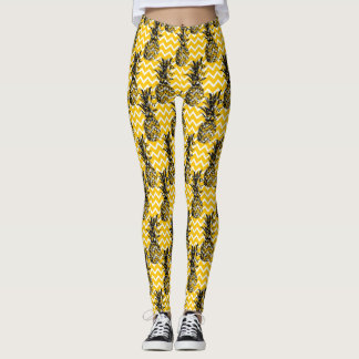 Pineapple Zigzags Leggings
