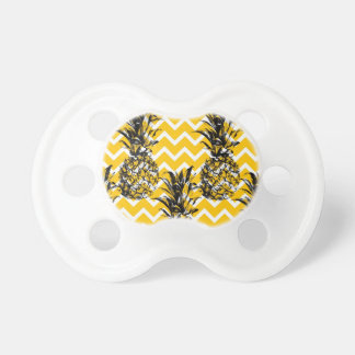 Pineapple Zigzags Pacifier