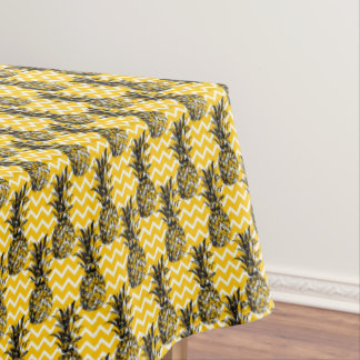 Pineapple Zigzags Tablecloth