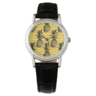 Pineapple Zigzags Wrist Watches