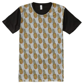 Pineapples All-Over-Print T-Shirt