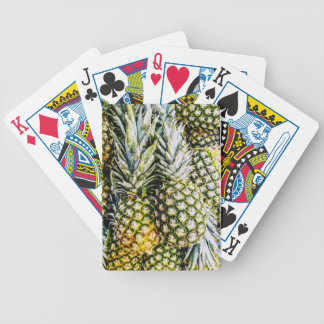 Pineapples Bicycle Playing Cards