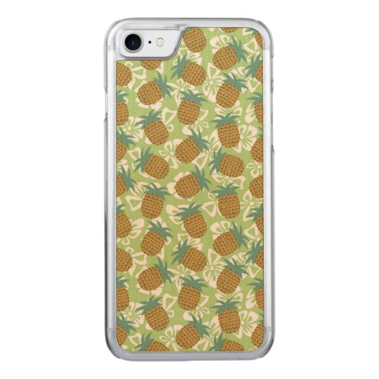 Pineapples Carved iPhone 7 Case