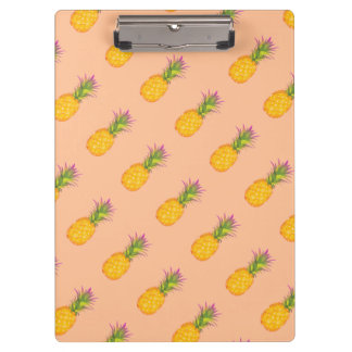 Pineapples Clipboard