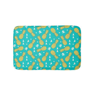 Pineapples Fruit pattern Bath Mat
