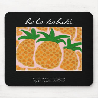 Pineapples Hawaiian Style Mousepad