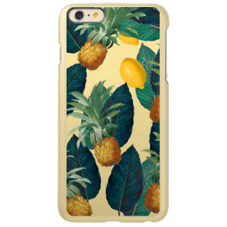 pineapples lemons yellow
