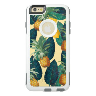 pineapples lemons yellow OtterBox iPhone 6/6s plus case