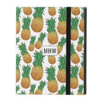 Pineapples Pattern custom monogram device cases