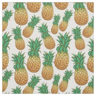 Pineapples Pattern fabric