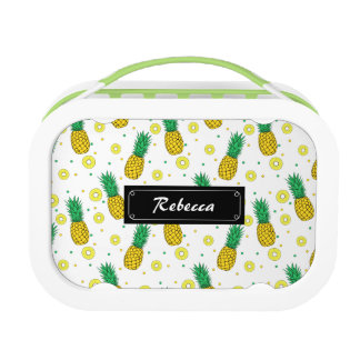 Pineapples pattern lunchbox