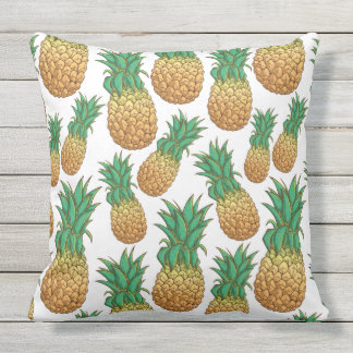 Pineapples Pattern throw pillows