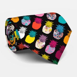 Pineapples Pattern Tie