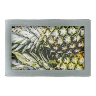Pineapples Rectangular Belt Buckle