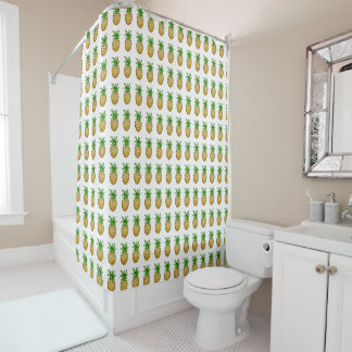 Pineapples Shower Curtain